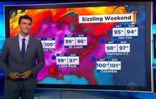 "Dangerous ""heat dome"" smothers U.S."