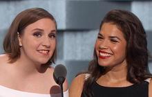 Lena Dunham and America Ferrera make their case for Hillary Clinton