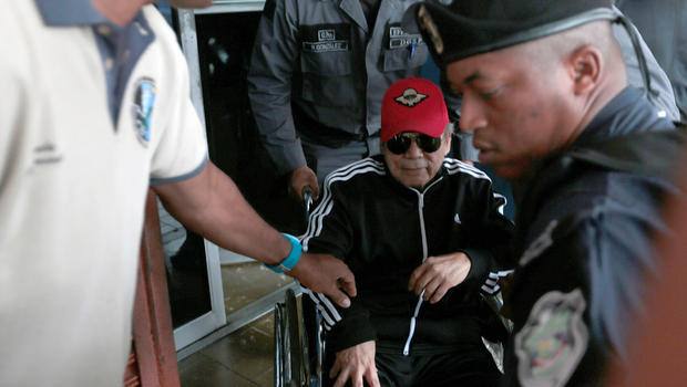 Manuel Noriega Ex Panama Dictator And Cia Informant