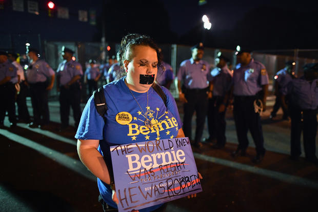 Protests at the Democratic National Convention