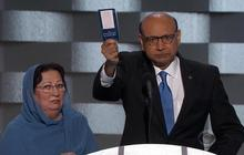 Slain soldier's father delivers stirring DNC speech