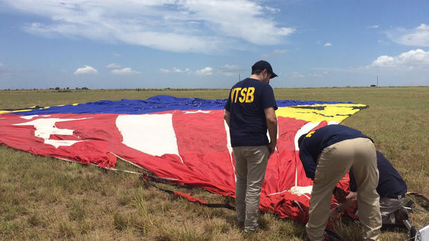 Texas hot air balloon crash