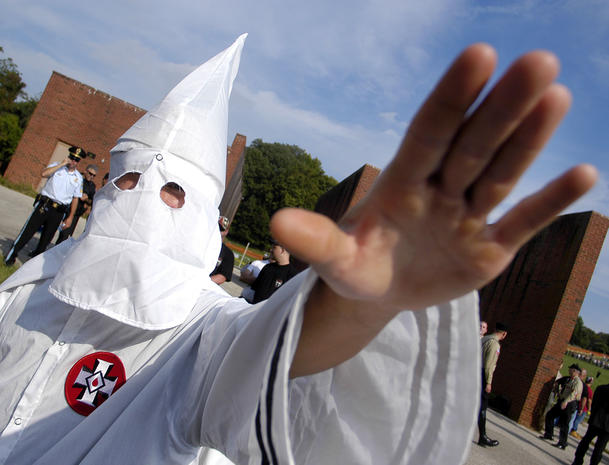 Disturbing photos of the modern-day Ku Klux Klan