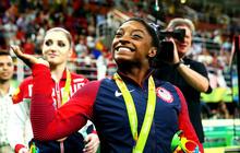 U.S. gymnast Simone Biles wins all-around gold in Rio