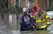 Historic floods slam the deep South