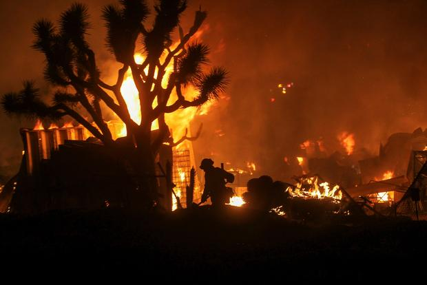 Devastating California wildfires
