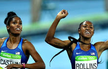 Rio roundup: U.S. track team sweeps 100 meter hurdles, women's beach volleyball win bronze