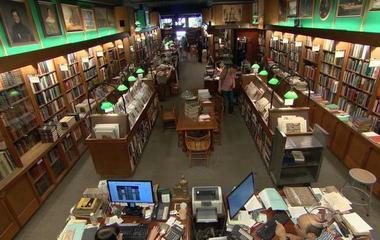 Rare bookstore still thriving in New York City