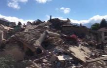 Dozens killed after earthquake strikes Italy