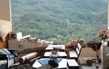 Earthquake leaves homes in rubble