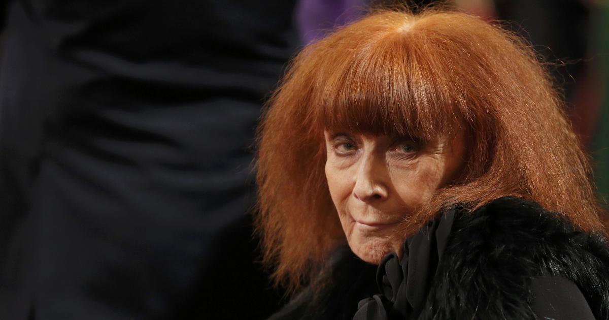 French Fashion Designer Sonia Rykiel Dead At 86 Cbs News
