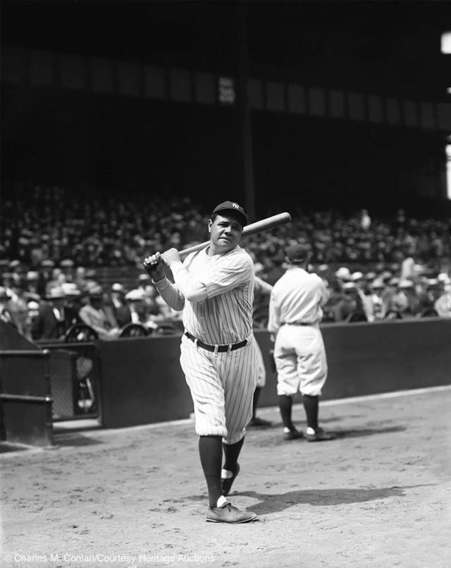 Charles M Conlons Photography Rare Photos Of Baseballs