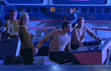 """Star Trek"" celebrates 50th anniversary, shares stage with NASA"