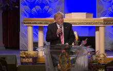 Watch: Donald Trump speaks at Great Faith Ministries International