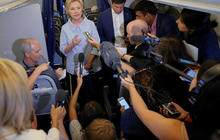 Hillary Clinton: Trump choked with trip to Mexico