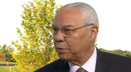 Colin Powell on significance of Smithsonian's new NMAAHC
