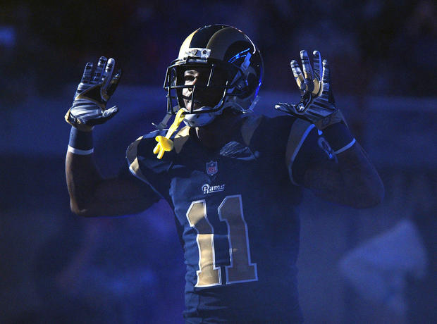 St Louis Rams Tavon Austin Athletes Protesting Racial Injustice