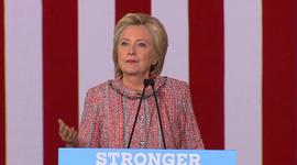 Clinton rallies supporters in North Carolina following pneumonia diagnosis