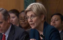 Elizabeth Warren rebukes Wells Fargo CEO