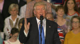 """Trump repeats """"what do you have to lose?"""" argument for black voters"""