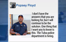 Tulsa cop's letter about recent police shootings goes viral