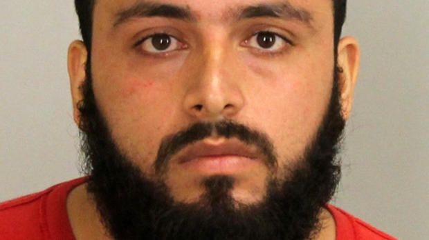 Ahmad Khan Rahami, 28, is seen in a Union County, New Jersey, prosecutor's office photo released on Sept. 19, 2016.