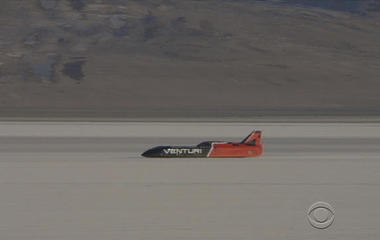 New land-speed record for electric car