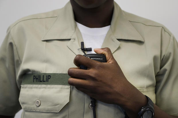 Black police recruit works to shatter perceptions