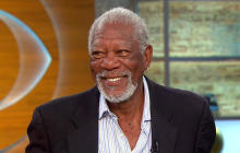 "Morgan Freeman on ""Madam Secretary"" and iconic voice"