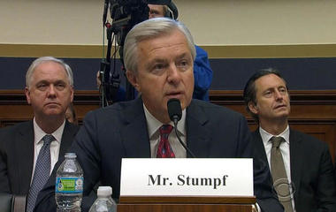 Congress hammers Wells Fargo CEO -- again