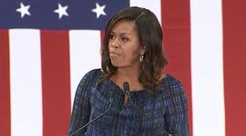 Michelle Obama's role on the campaign trail