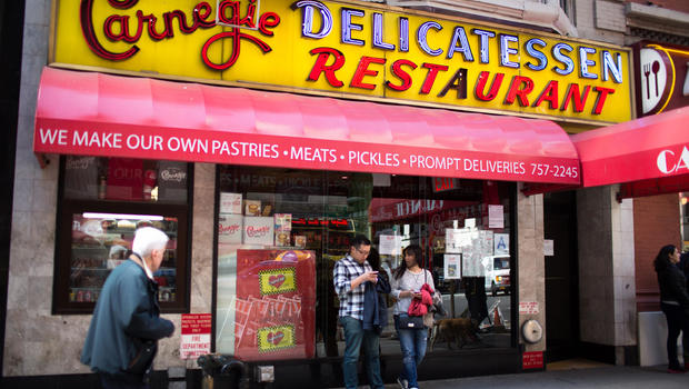 carnegie deli closes nyc s legendary deli closes after 79 years