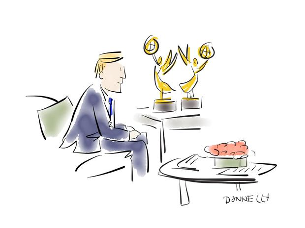 "Sketching out ""CBS This Morning"""