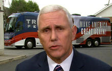 VP nominee Pence questioned on differing visions with Trump