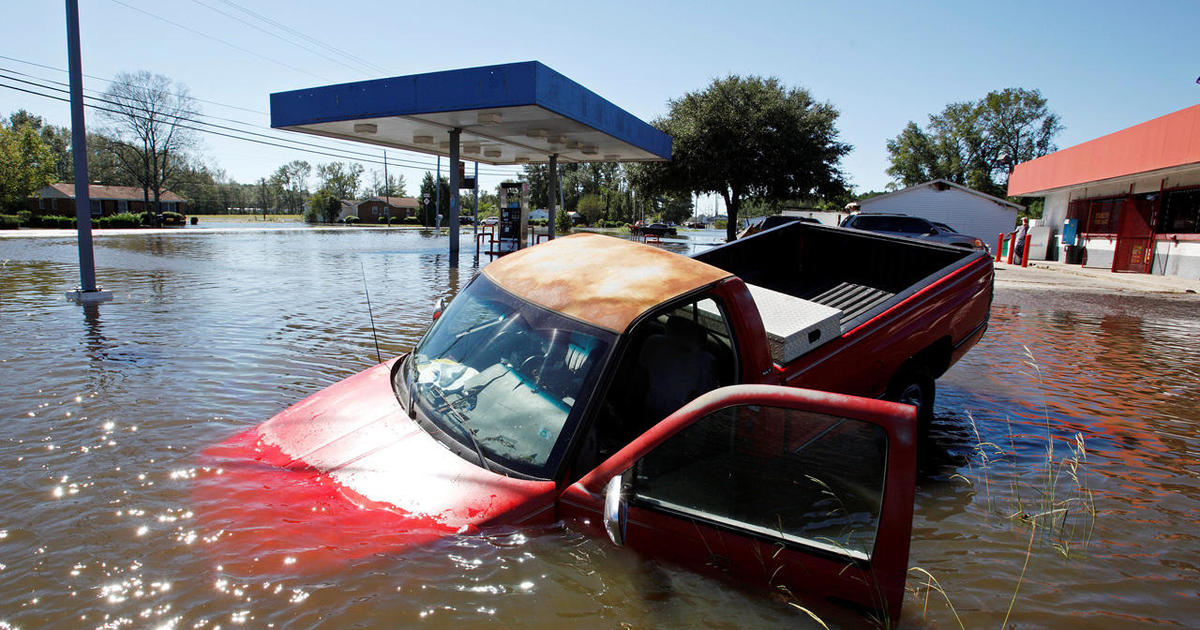 Used Cars Fayetteville Nc >> Matthew flooding kills at least 10, strands 1,500 in North Carolina alone - CBS News