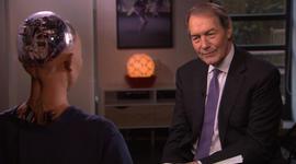 Charlie Rose interviews…a robot?