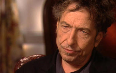 """Bob Dylan on writing """"Blowin' in the Wind"""""""