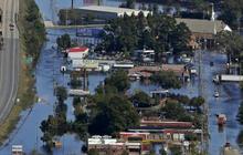 North Carolina floods continue to strand communities