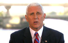 """Pence does not condone attempts to make voters """"nervous"""""""