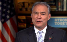 "Kaine on WikiLeaks: ""You can't assume that they're all accurate"""
