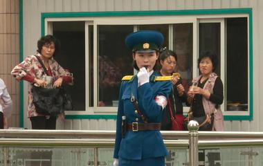 A rare look inside North Korea's capital city