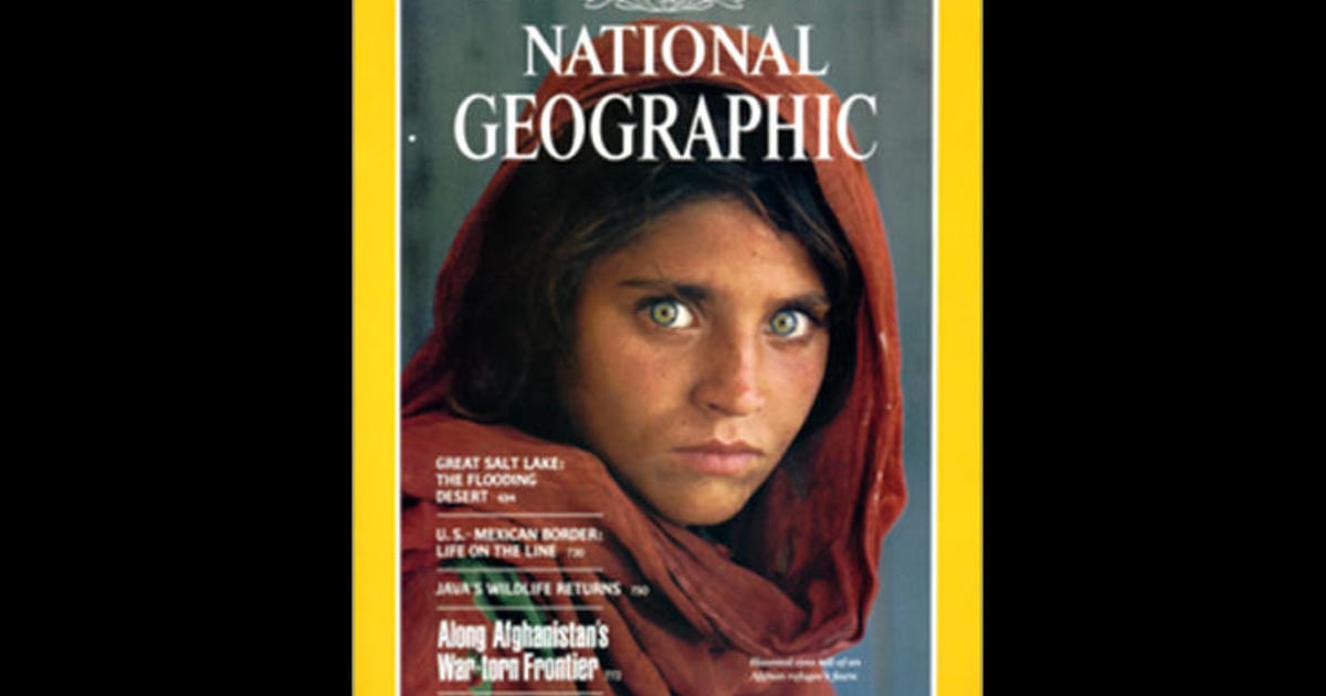 National Geographic Girl With Green Eyes
