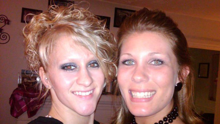 Brittany Brooks and Shelley Mook