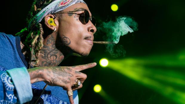 Celebrity pot smokers