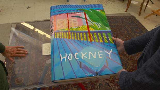 British painter David Hockney releases sumo-book of famous