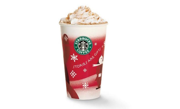Starbucks seasonal cups through the years