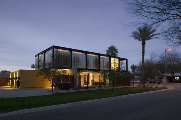 Sosnowski Residence In Tempe, Arizona   10 Minimalist Houses To Help You  Scale Back This Fall   CBS News
