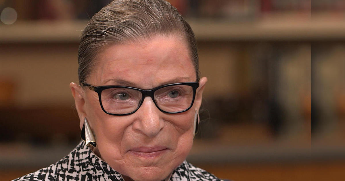 It's Justice Ruth Bader Ginsburg's first day back on the bench at the Supreme Court today - CBS News