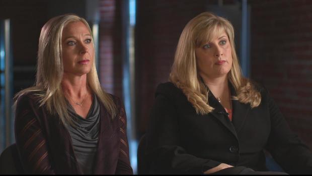 Detectives Stacy Galbraith and Edna Hendershot