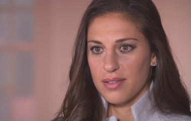 "Carli Lloyd: ""You don't want to go against the grain"""